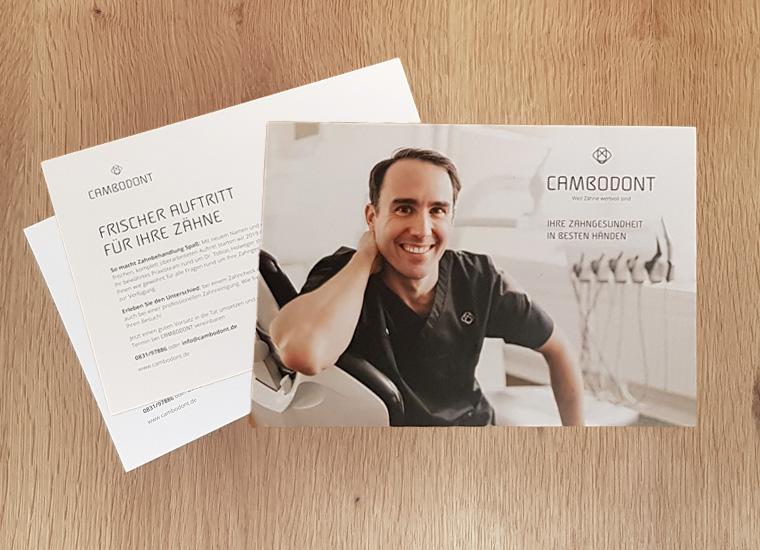 Rebranding für Cambodont